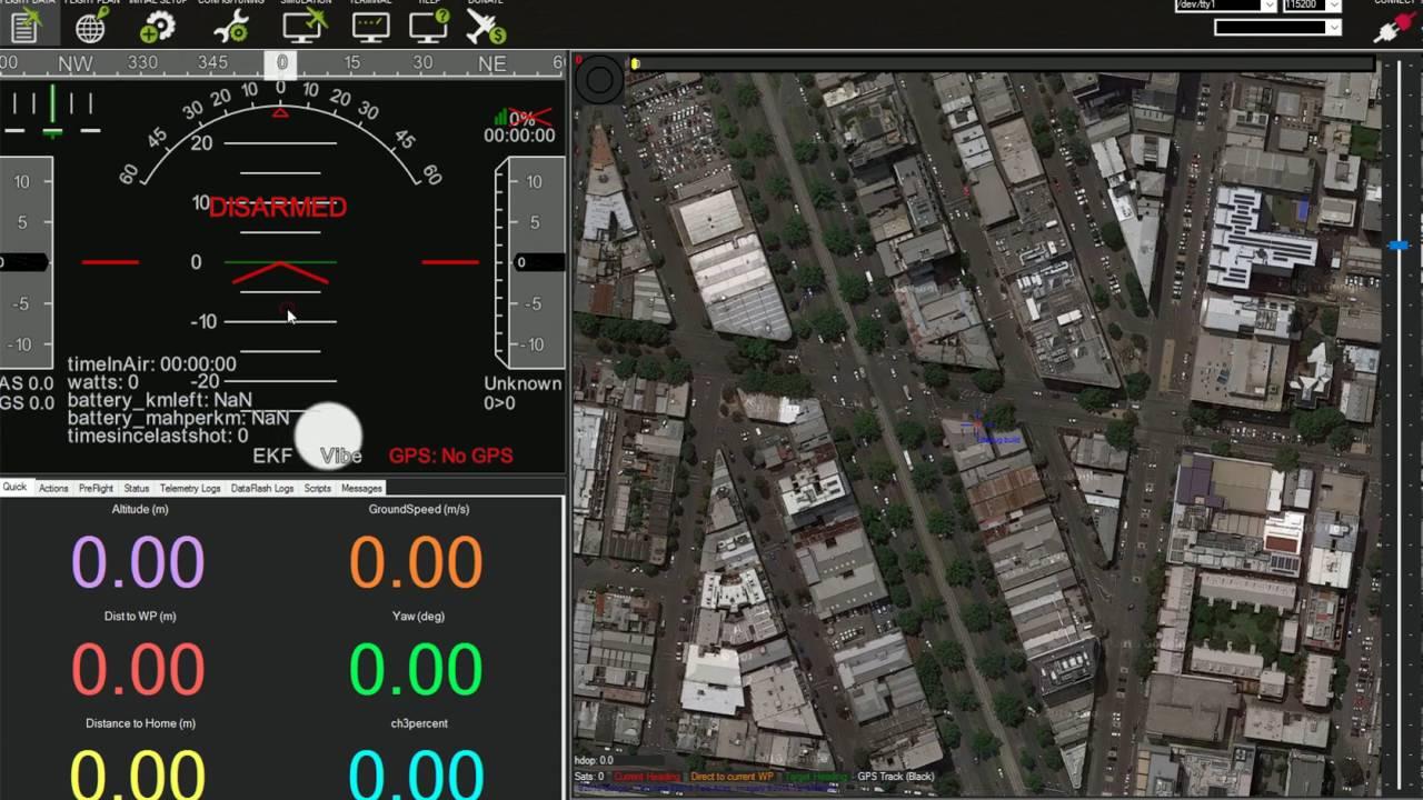 MissionPlanner with gstreamer video source
