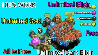 Clash OF Clans VIP Mod APK New Version [All Is Free, Unlimited Gold,Elixir and Dark Elixir][No Root]