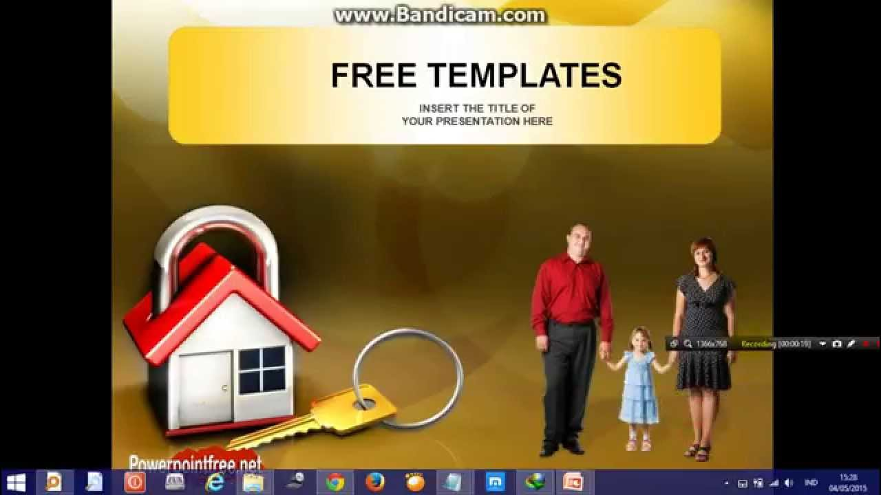 life insurance powerpoint presentation template - youtube, Presentation templates