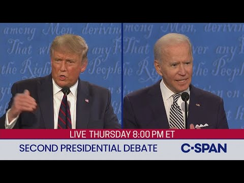 Second 2020 Presidential Debate between Donald Trump and Joe Biden, From YouTubeVideos