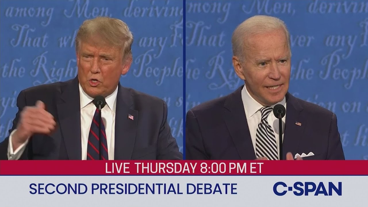 #TMPCHECKOUT: Second 2020 Presidential Debate between Donald Trump and Joe Biden