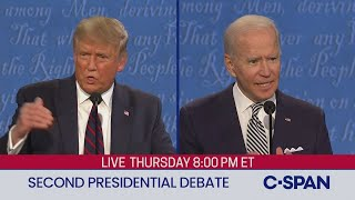 Download lagu Second 2020 Presidential Debate between Donald Trump and Joe Biden