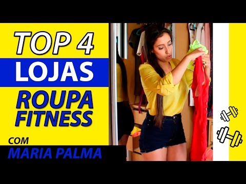 TOP 4 || LOJAS DE ROUPA FITNESS | FITNESS CLOTHES