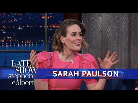 Sarah Paulson Has Twitchy Eye From 2017
