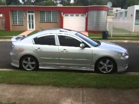 mazda 3 2005 hatchback body kit