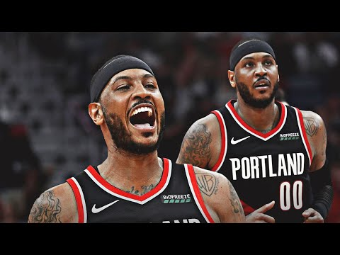 Breaking: Carmelo Anthony Trail Blazers Contract To Be Fully Guaranteed For Season | NBA NEWS