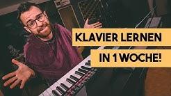 Kann ich in 7 Tagen Klavier spielen lernen? - Selbstexperiment