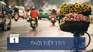 Thời tiết 17/1: Chuyển lạnh ngày tiễn ông Táo về trời