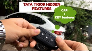TATA Tigor Hidden Features | Car + Key Features | Unknown Features