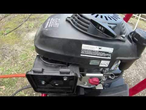 Excell Pressure washer Honda engine cleaning main jet- still work to do