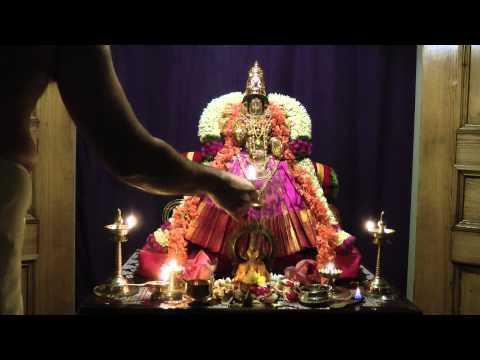 """Navarathri (D7) - Sri Mahalakshmi (Shree) Seva - Medieval Hymn - """"Sri Sthuthi"""" (Vedanta Desika)"""