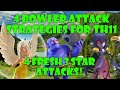 4 DIFFERENT TH11 BOWLER ATTACK STRATEGIES! CLASH OF CLANS