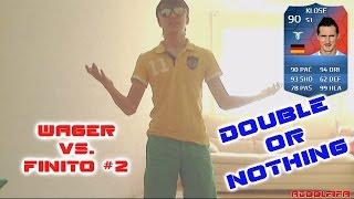 FIFA 14 | WAGER VS. FINITO #2!!! БИТВА ГЛОРОВ