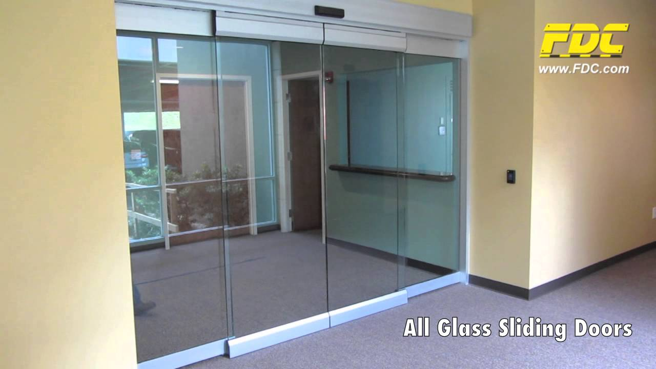 All Glass Sliding Doors Installation By Florida Door Control Of Orlando    YouTube