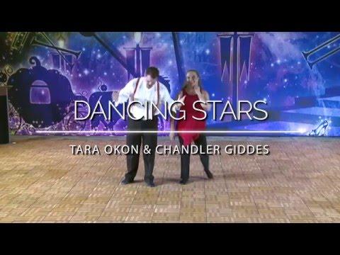 #DancingStarsofSouthGa2K16 - Dancing Stars: Tara Okon & Chandler Giddes