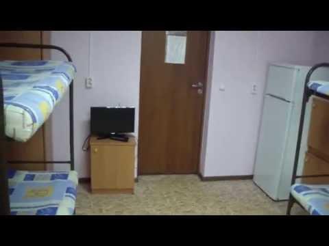 Общежитие в Москве (метро Алексеевская - восьмиместная комната  недорого)