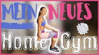 Mein neues HOME GYM - Roomtour - Eigenes Fitnessstudio einrichten - Mit Vorher / Nachher Bilder