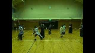 プロダクション東京ドラマハウス・殺陣クラス稽古風景2012・6