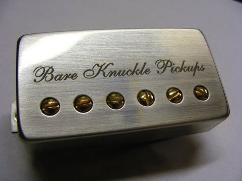 Bare Knuckle Pickups - Miracle Man Humbucker - YouTube