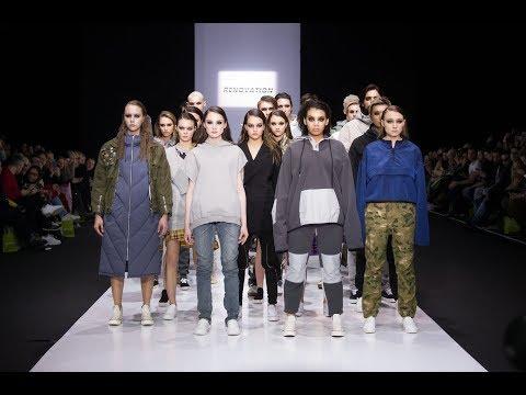 Показ бренда Renovation на Неделе моды в Москве