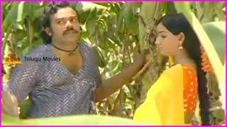 Chiranjeevi And Menaka Scenes - Back 2 Back | Punnami Nagu Movie Scene
