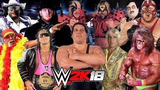 WWE LEGENDS Royal Rumble WWE 2K18 Gameplay