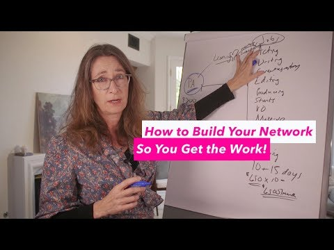 How to Build your Network so you Get the Good Work!