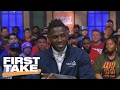 Antonio Brown On Addressing Trade Rumors: 'steelers For Life' | First Take video