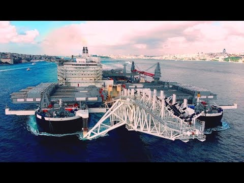 Top 10 largest Pipe Laying Ships