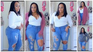 THICK GIRLS End of WINTER Look Book Try ON Zeagoo AMAZON