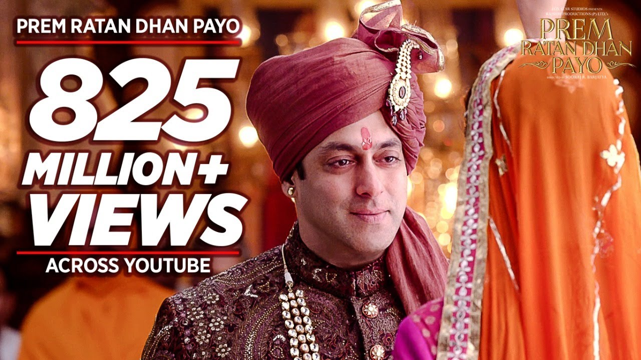 'PREM RATAN DHAN PAYO' Title Song (Full VIDEO) | Salman Khan, Sonam Kapoor | Palak Muchhal