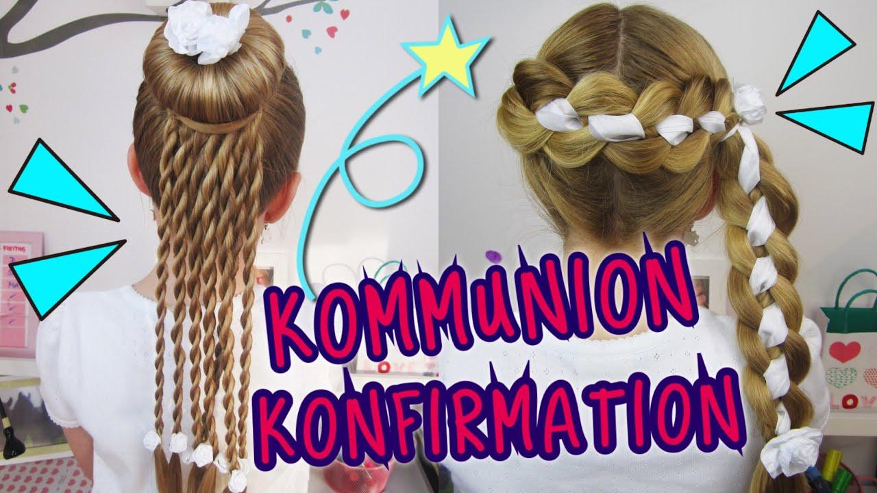 ★ COOLE Konfirmation Kommunion ★ Frisuren Die Sonst Keiner Hat