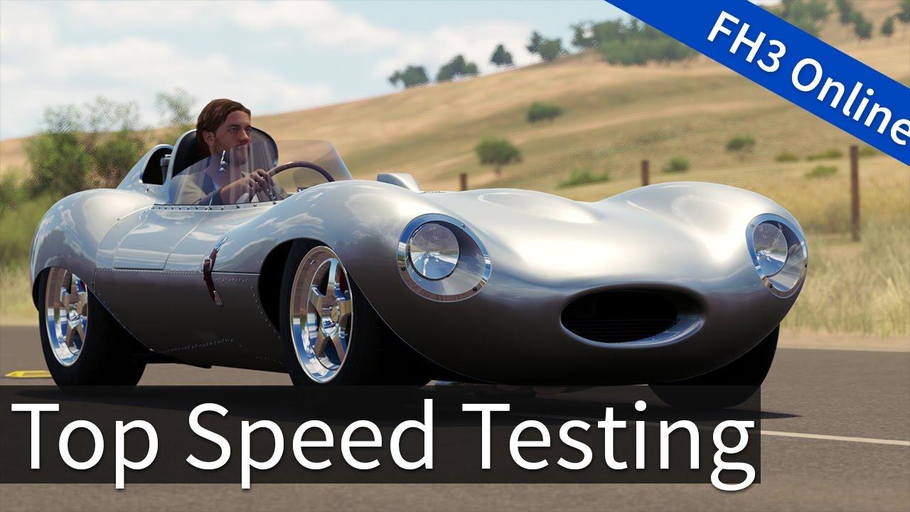 Forza Horizon 3: Testing Top Speed Cars! - YouTube
