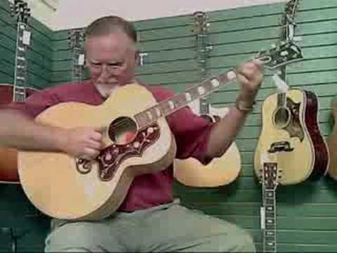 Oklahoma Vintage Guitar Bro Bobby on Gibson SJ200