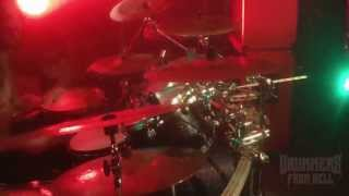 VADER@Come And See My Sacrifice live at Tychy-Poland 2013 (Drum Cam)