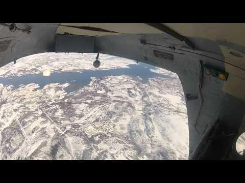 Д 1 5У   Парашют раскрылся в вертолёте