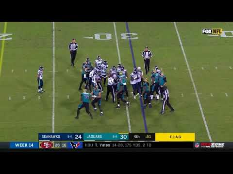 Seahawks vs. Jaguars Fight | NFL