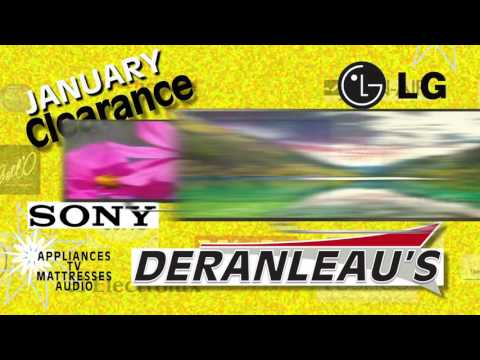 Deranleaus January Clearance Sony LG 2017