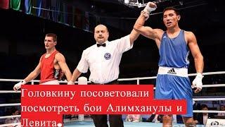 Головкину посоветовали посмотреть бои Алимханулы и Левита...