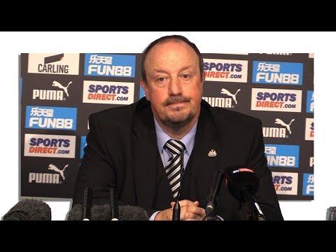 Newcastle 0-2 Tottenham - Rafael Benitez Full Post Match Press Conference - Premier League