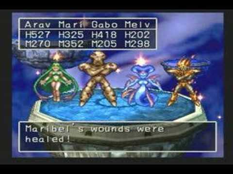 Generate Dragon Quest VII (PS1) Secret Boss - The Four Spirits Snapshots