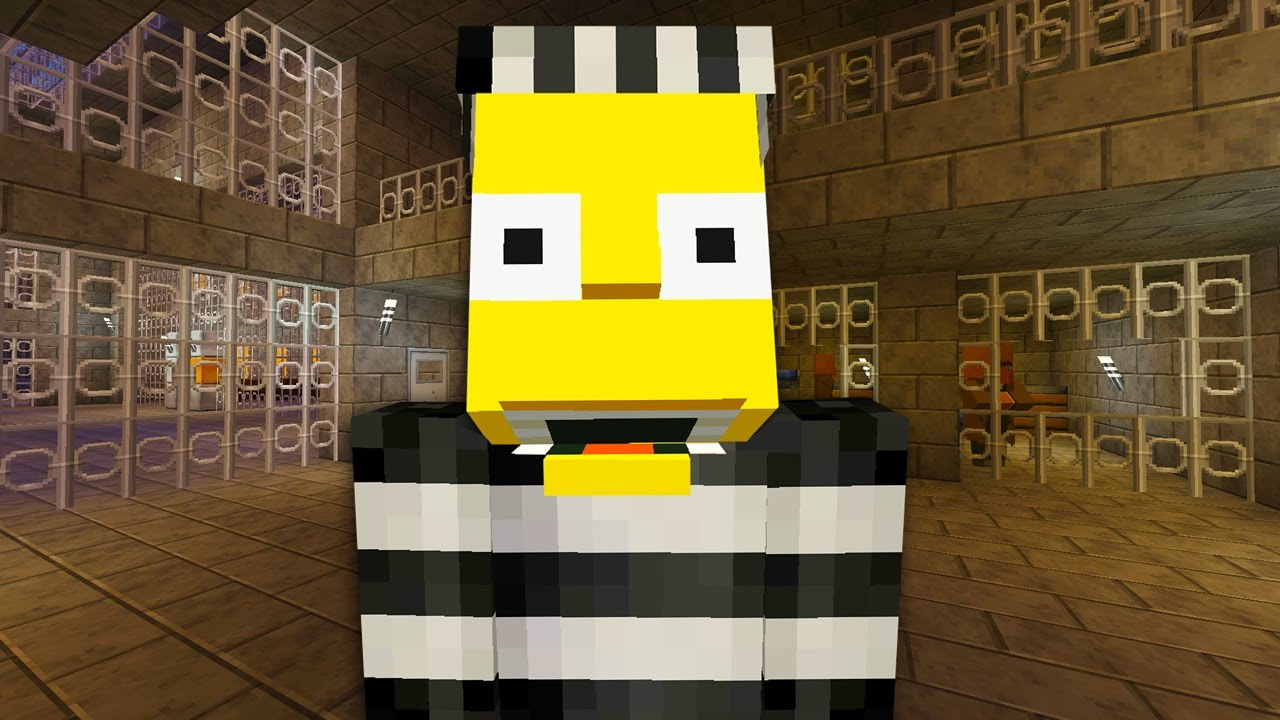 Bart Simpson Escapes From Prison