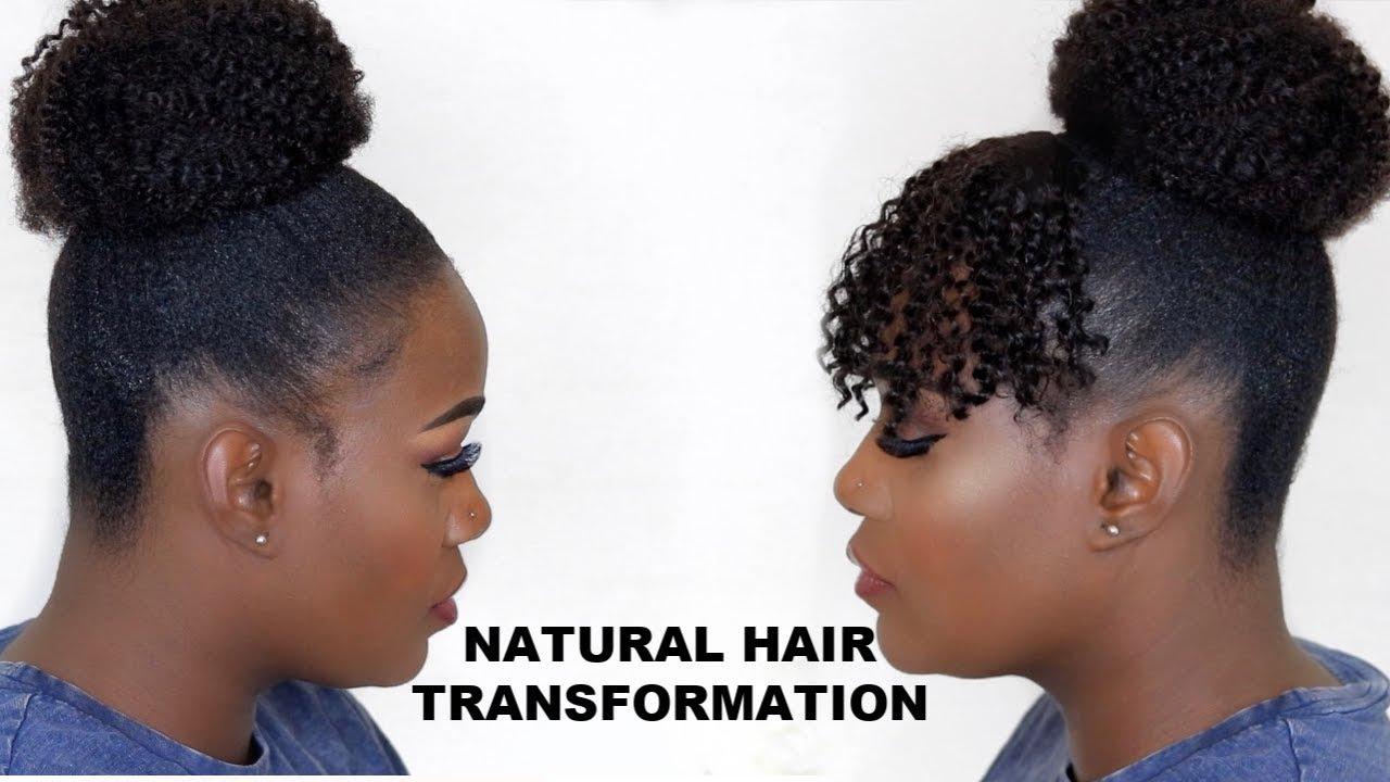 Slick Updos On Short Natural 4c Hair 2 Year Update Hergivenhair