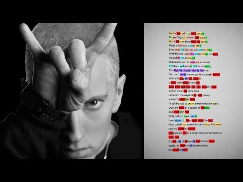 Decstructing Eminems Rap God  Check The Rhyme