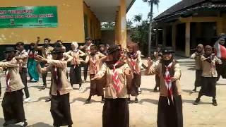 JOGET MANCING ALA PRAMUKA SMA PURNAMA TRIMURJO KAB. LAMPUNG TENGAH
