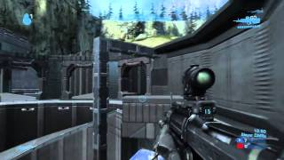 Goofy (An MLG Pro) - Halo: Reach 1v1 Perfection Gameplay Against A Pure Gangster on Sanctuary