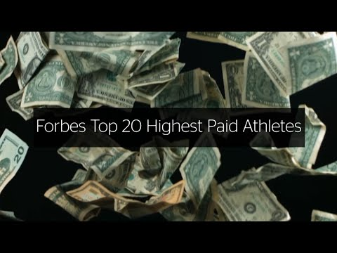 Forbes Top 20 Highest Paid Athletes 2016