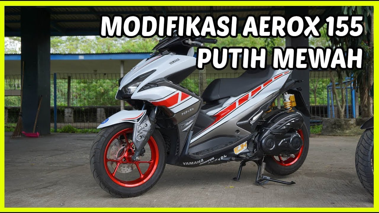 Download Kumpulan 80 Modifikasi Yamaha Aerox 155 Vva Konsep 50th