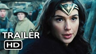 Wonder Woman Official Trailer #2 (2017) Gal Gadot, Chris Pine Action Movie HD