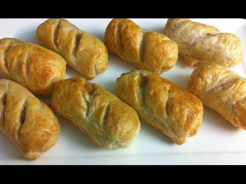 QUICK AND EASY SAUSAGE ROLLS - simpley cooking
